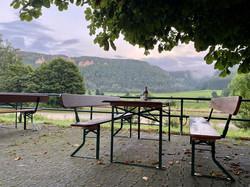 Terrasse Biergarten