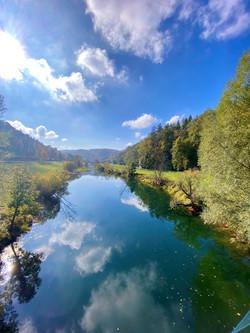 Donau im Herbst