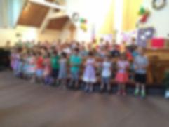 St. Mark's Preschool Closing Program