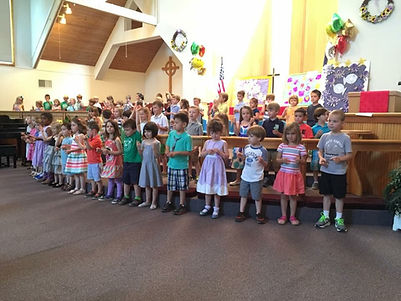 St. Mark's Preschool Closing Program