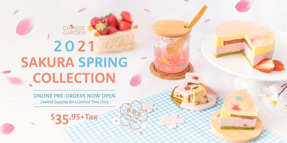 2021-Sakura Spring Web Banner-Pre-Order-