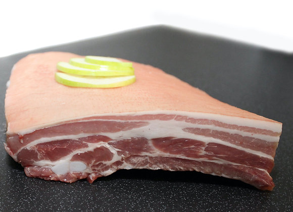 Belly pork slices