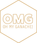 omg oh my ganache's logo