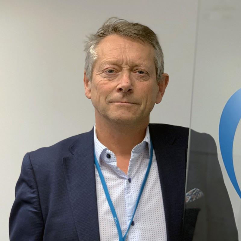 Helge Legernes leder Produktivitet og Innsikt-teamet i Move