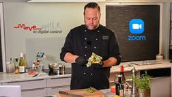 Gladkokken gjør suksess med direktesendte kokkekurs i samarbeid med Move og Zoom