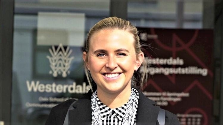 Anne Sofie Nygaard ble finalist i Women in Tech kategorien under Microsoft Partner Awards 2021.