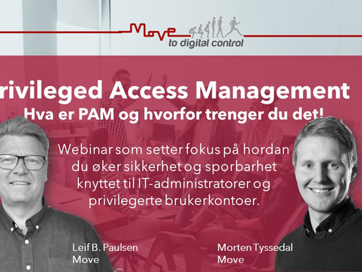 Sikker aksess med Privileged Access Management løsning