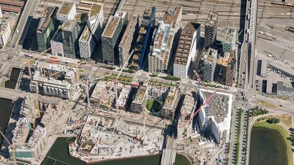 Hyperdetaljerte bilder fra Terratec danner grunnlag for digitale kart og terrengmodeller..