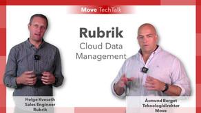 Rubrik data management plattform