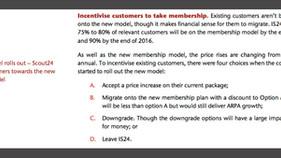 Is Immoscout24's pricing model for agents effective?