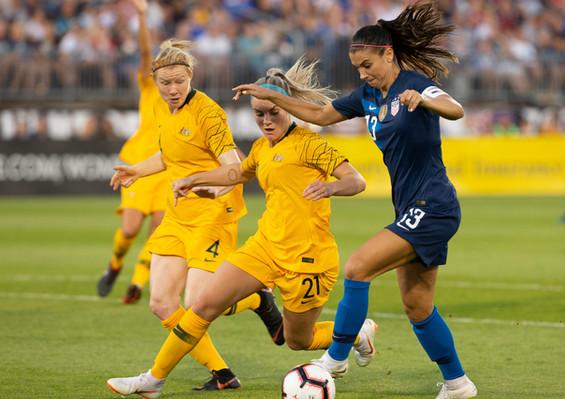 Matildas score equal pay