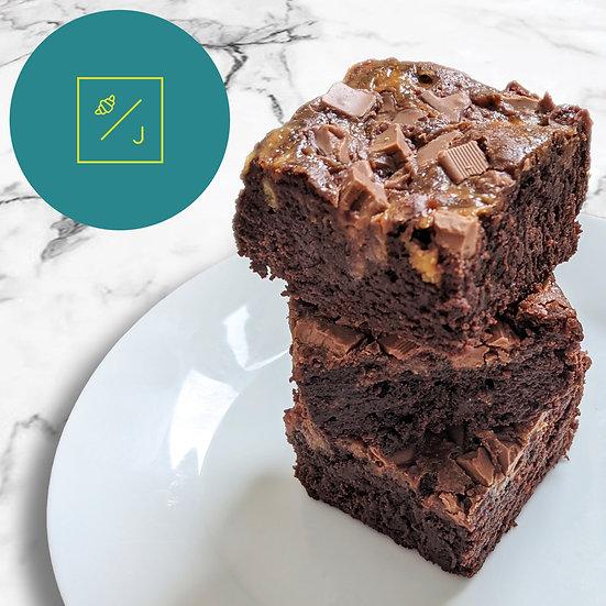 Banoffee Brownies