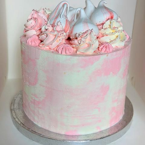 Pink Marble Cake