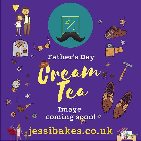 Fathers Day Cream Tea