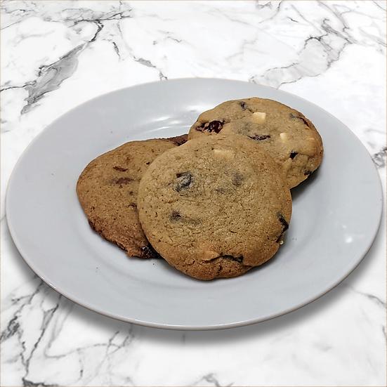 Cookie Mix - Cranberry and White Chocolate, Triple Chocolate & Chocolate Orange