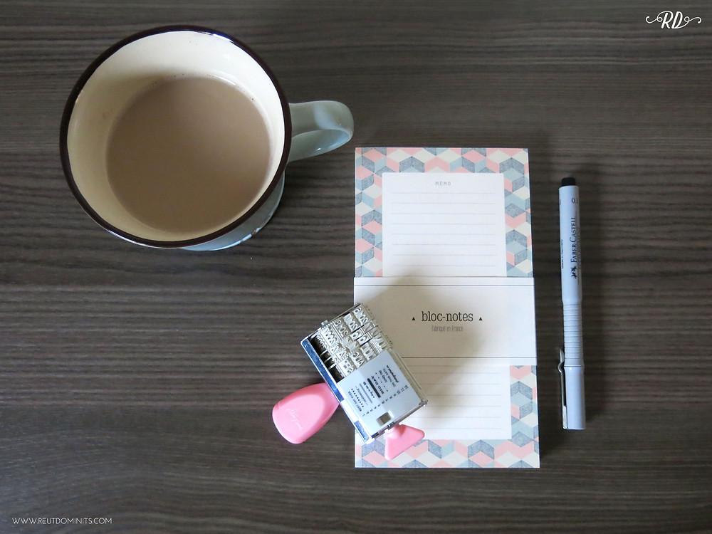 lists and coffee