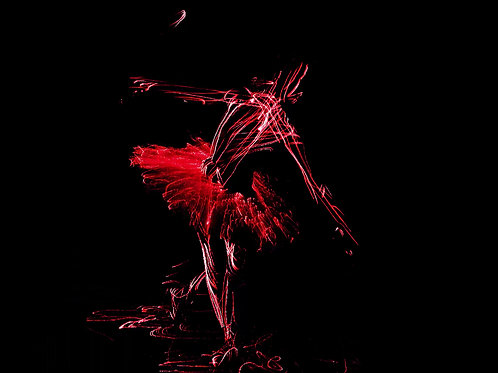 """Russian ballerina between the acts"" NFT 4k video +GIF +HI RES 90x60 cm"