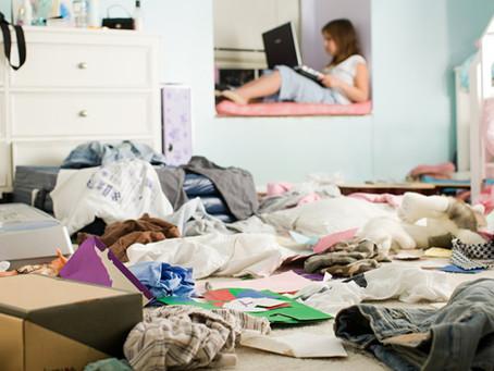 """""""¡La pieza de mi hijo es un desastre!"""" Algunas claves para manejar este tema..."""