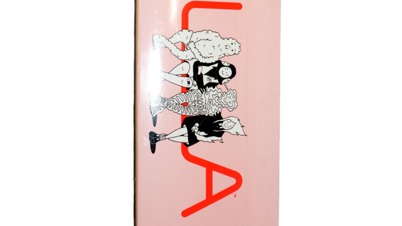 Andy Busk - Pink Board deck