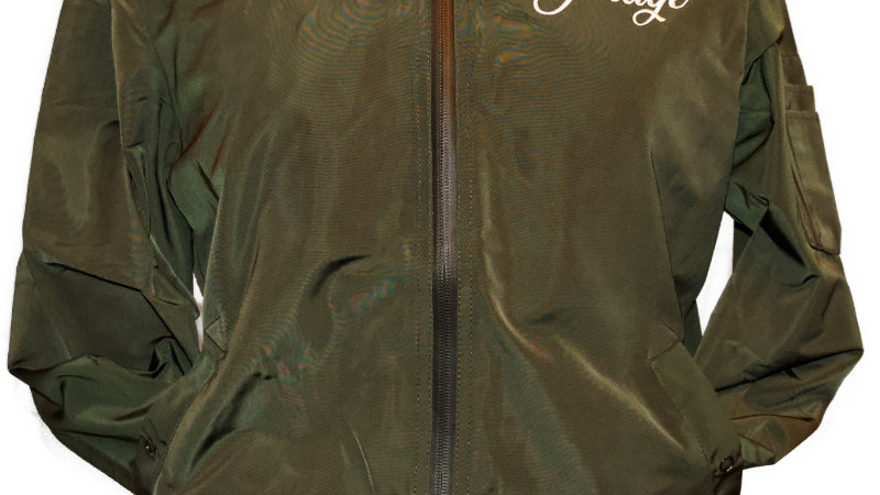 the garage aviator jacket