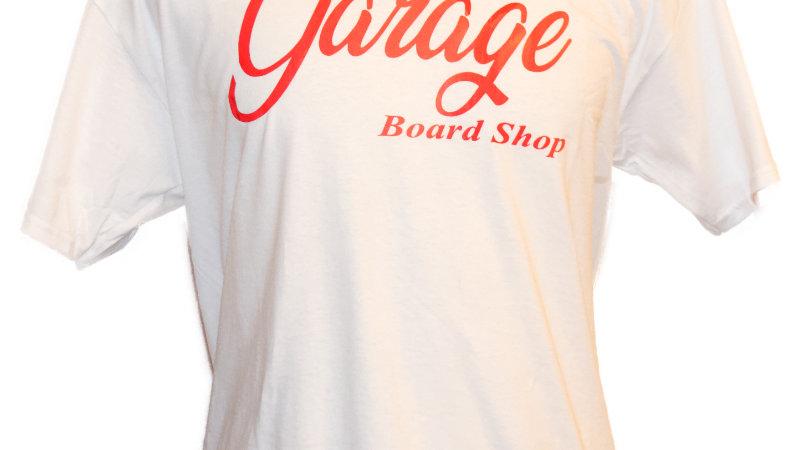 The Garage Board Shop Script tee