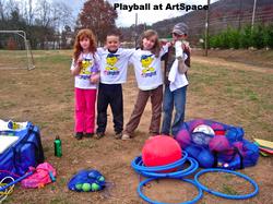 Playball at ArtSpace Charter School