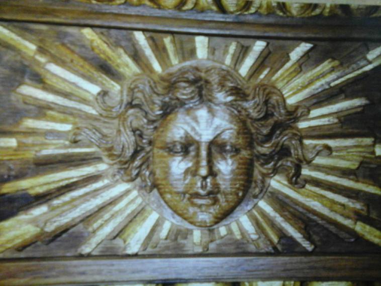 Dorure sur bois - corniche doré