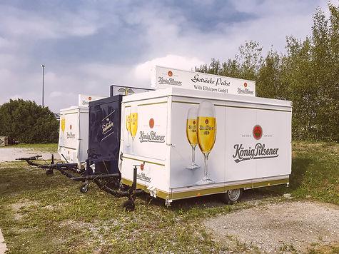 Veranstaltung - Ausschankwagen