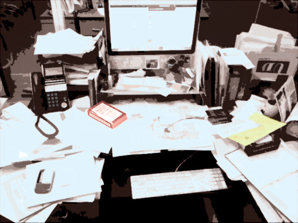 Is a cluttered desk a sign of a creative mind?