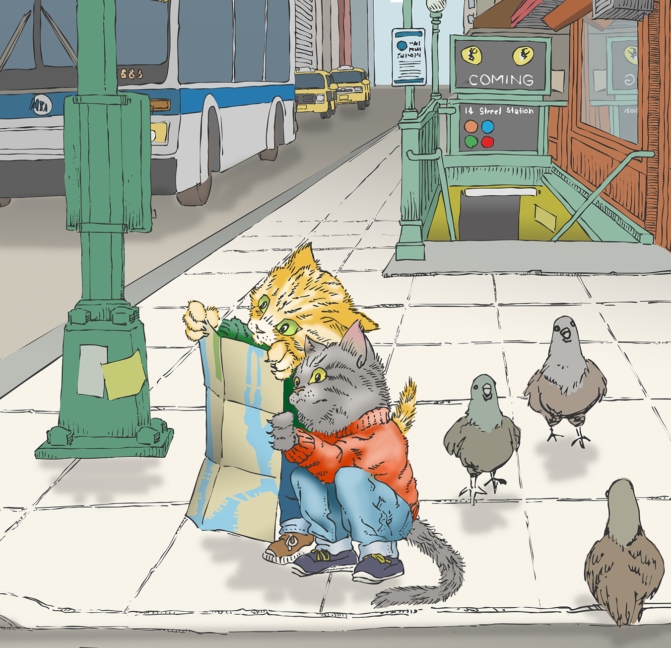 Kitties in the City