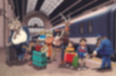 10.kids.animal.train.station.jpg