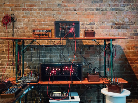 Synths made of old telephone switch boards/Hacking CD Players/Koka's Box/Dusty Bible for the com