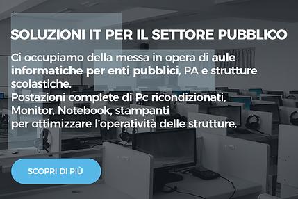 Soluzioni per il settor pubblico