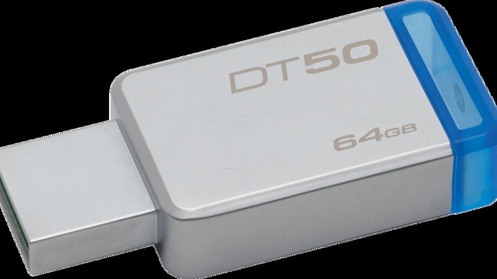 Chiavetta USB Kingston DT50 64gb