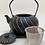 Thumbnail: Teekanne aus Gusseisen - Schwarz/Silber Inhalt 1,0 l