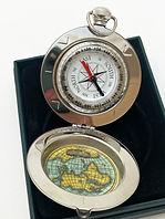 Dalvey, Taschenuhr, Kompass, Manschettenknöpfe, Schottland, Männergeschenk, Rasierset