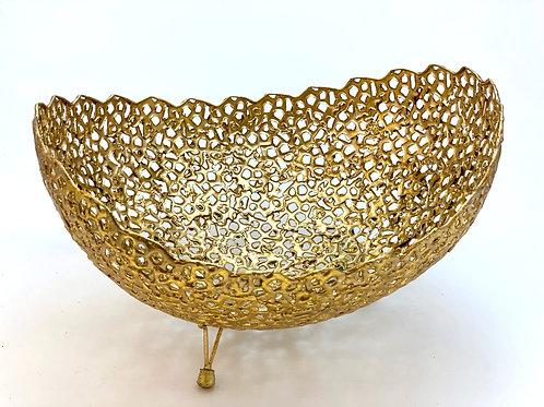 Schale - goldfarben