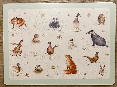 """Wrendale Designs Placemats - Tischset """"Tiere des Waldes"""""""