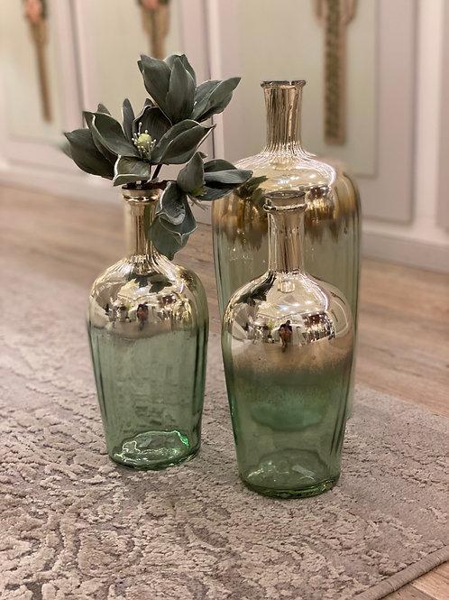 Flasche - Grün/Gold
