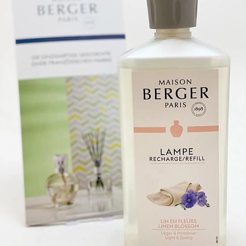 "Lampe Berger Duft-500 ml ""Frühlingshafte Leinenblüte"""