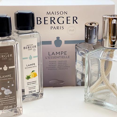 "Maison Berger - Starterset ""Eckig"""