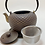 Thumbnail: Teekanne aus Gusseisen - Antrazit/Gold Inhalt 0,9 l