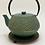 Thumbnail: Teekanne aus Gusseisen - Grün/Gold Inhalt 0,8 l