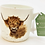 Thumbnail: Wrendale Designs Becher Highland Rind - Goo