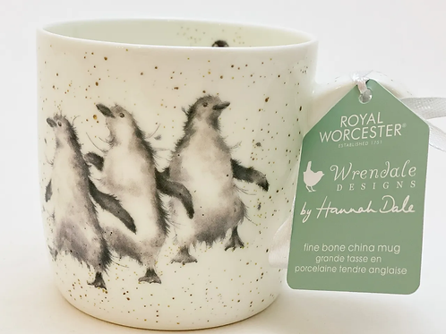 Wrendale Designs Becher Pinguine - Out of the Town