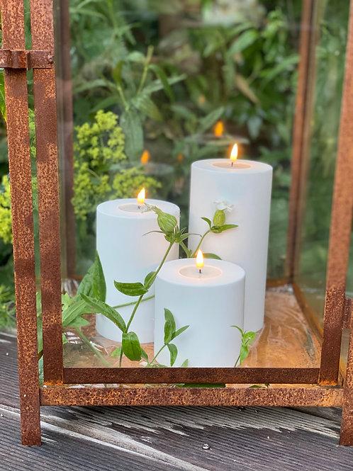 Outdoor Deluxe Homeart LED-Kerze MIA - Weiß