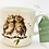 Thumbnail: Wrendale Designs Becher Eule - Birds of a Feather