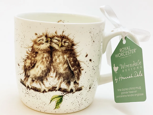 Wrendale Designs Becher Eule - Birds of a Feather
