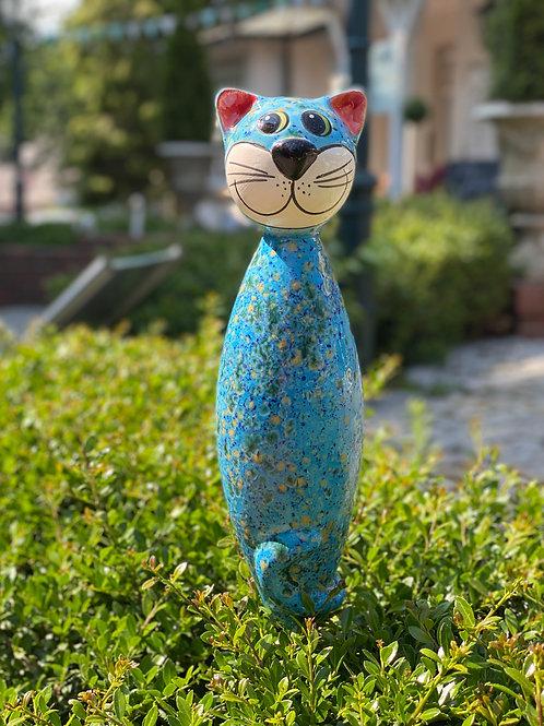 """Gartenstecker - Katze """"Groß"""""""