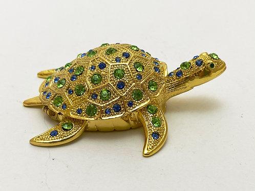 Schmuckdose/Pillendose Schildkröte
